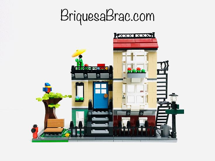LEGO ® CREATOR 3EN1 31065 La maison de ville (bâtiment seul)