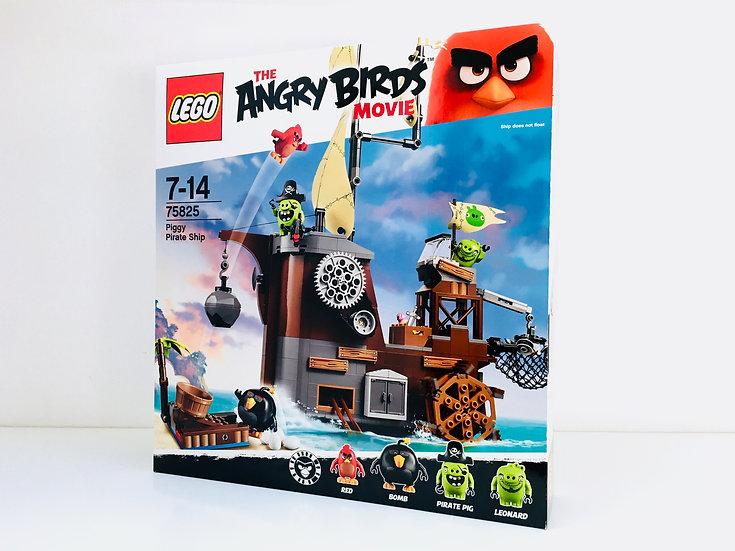 LEGO ® ANGRY BIRDS 75825 Le bateau pirate cochon