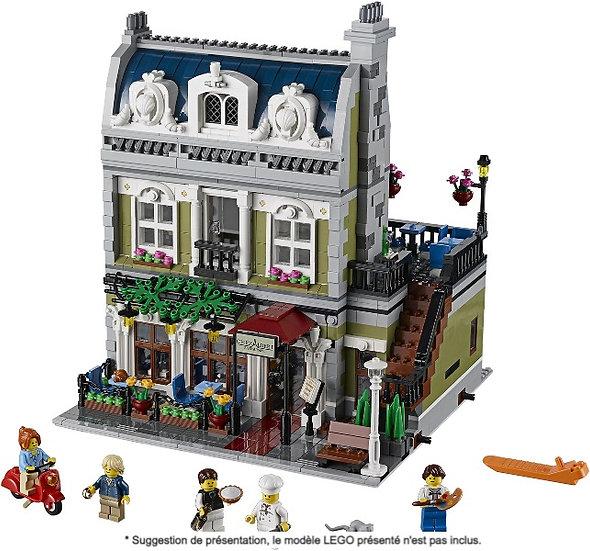 Vitrine BriquesaBoX pour Le Restaurant Parisien (LEGO® 10243 non inclus).