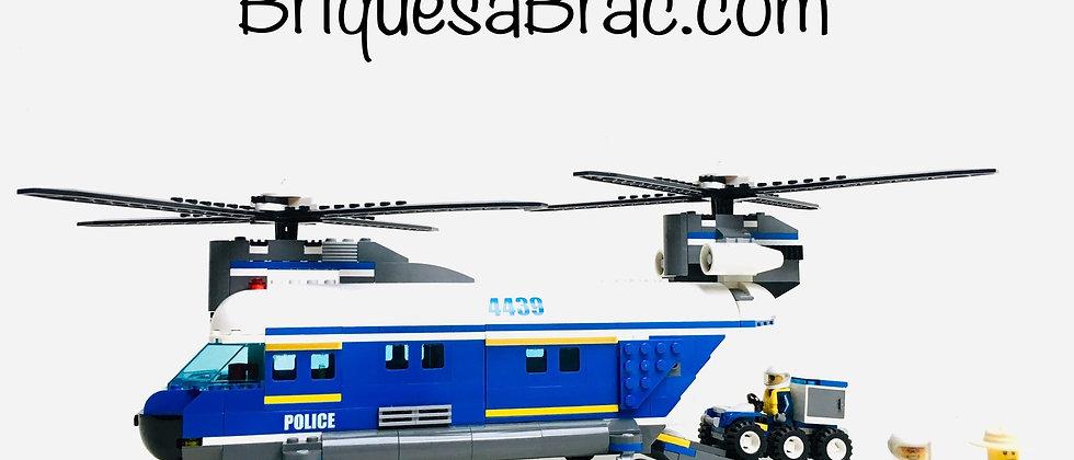 LEGO ® CITY 4439 Le Super Hélicoptère de Police