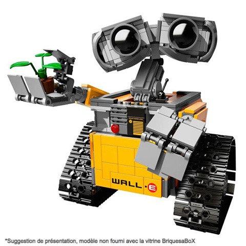 Vitrine BriquesaBoX pour Wall-E Ideas (LEGO® 21303 non inclus)