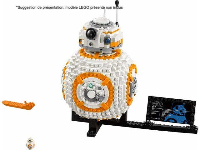 Vitrine BriquesaBoX pour BB-8™ (LEGO® 75187 non inclus)