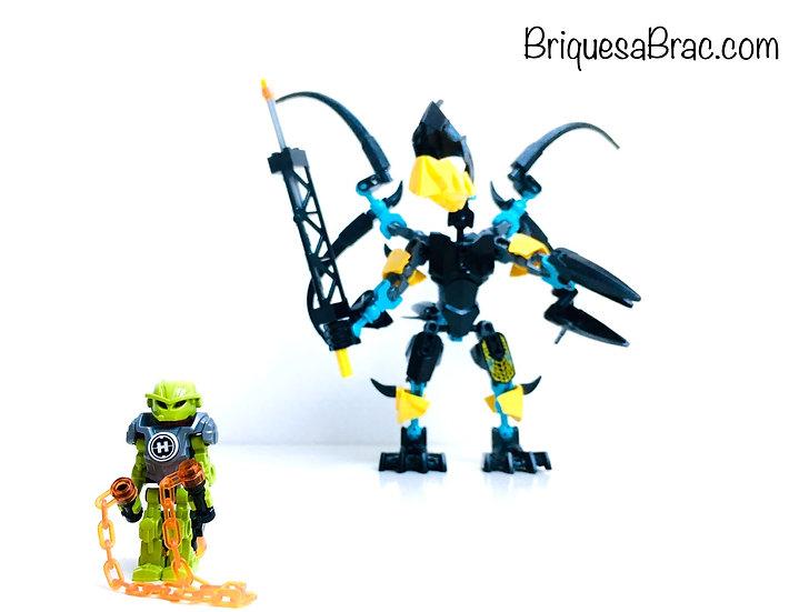 LEGO ® HERO FACTORY 44020 FLYER Beast vs. BREEZ (Occasion)