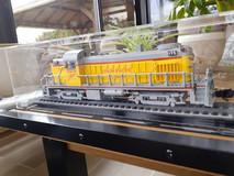 Vitrine BriquesaBoX sur mesure Pour locomotive