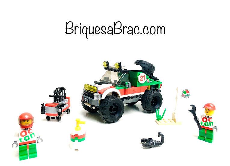 LEGO ® CITY 60115 Le 4x4 tout-terrain (Occasion)