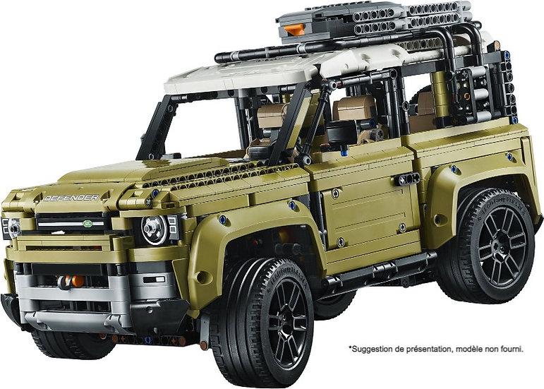 Vitrine BriquesaBoX pour Land Rover DEFENDER (LEGO® 42110 non inclus)