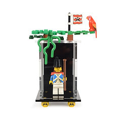 Vitrine Plexiglas Minifigurine LEGO