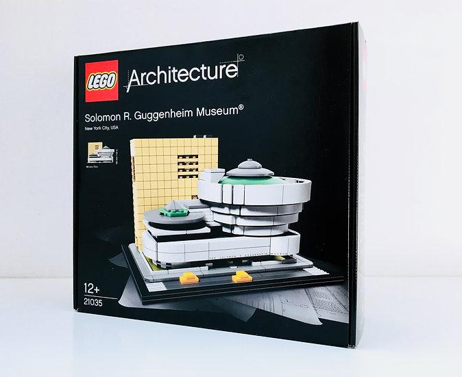 LEGO ® ARCHITECTURE 21035 Solomon R.Guggenheim Museum