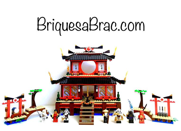LEGO ® NINJAGO 2507 Le Temple de Feu (Fire Temple)