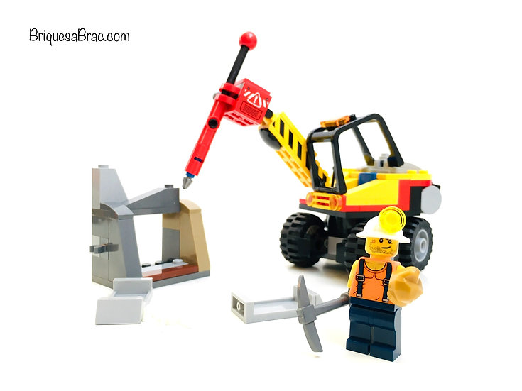 LEGO ® CITY 60185 L'engin Concasseur Minier (Occasion)
