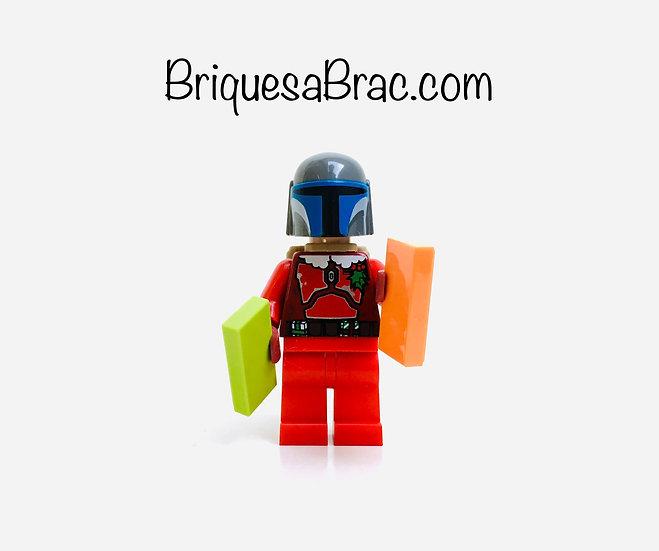 LEGO ® MINIFIGS SW0506 SANTA BOBA FETT (père nöel)
