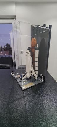 Vitrine d'exposition BriquesaBoX LEGO Space