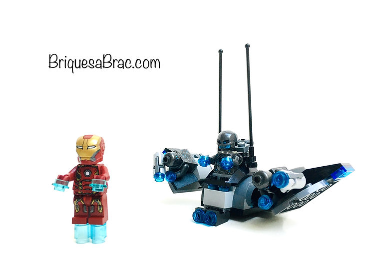 LEGO ® MARVEL COMICS AVENGERS 76029 Iron Man vs. Ultron (Occasion)