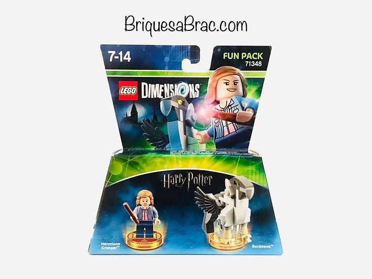 LEGO ® DIMENSIONS 71348 Hermione Granger & Buckbeak