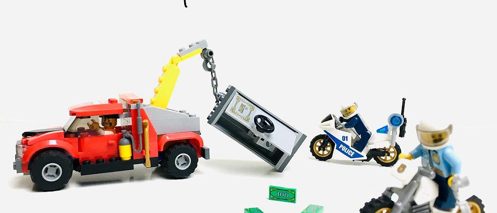 LEGO ® CITY 60137 Le Braquage du Dépanneur