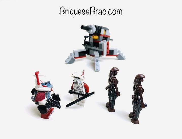 LEGO ® STAR WARS 9488 Elite Clone Trooper & Commando Droid Battle Pack