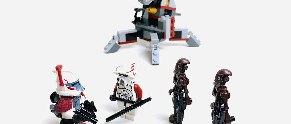 LEGO ® STAR WARS 9488 Elite Clone Trooper & Commando Droid Battle Pack