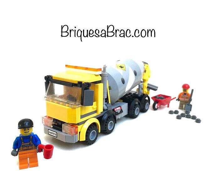 LEGO ® CITY 60018 La Bétonnière (Occasion)