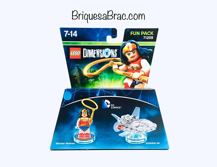 LEGO ® DIMENSIONS 71209 Wonder Woman and Invisible Jet (Neuf)