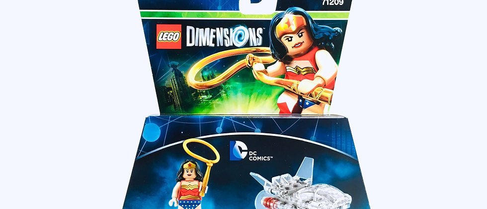 LEGO ® DIMENSIONS 71209 Wonder Woman and Invisible Jet
