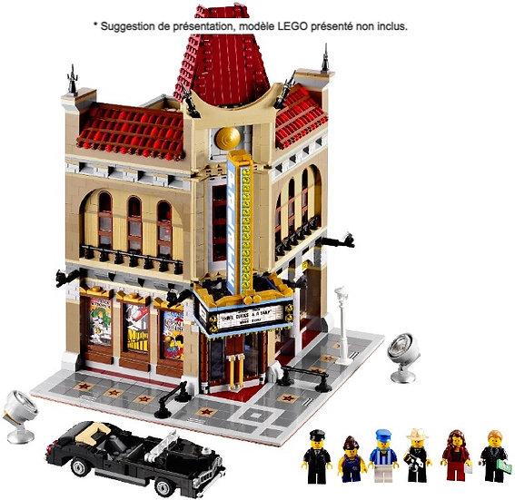 Vitrine BriquesaBoX pour Le Palace Cinema (LEGO® 10232 non inclus)