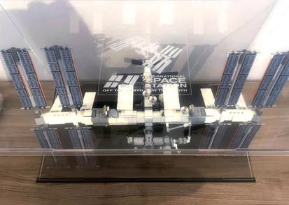 Vitrine Plexiglass BriquesaBox Pour Set LEGO® IDEAS 21321 International Space Station ISS