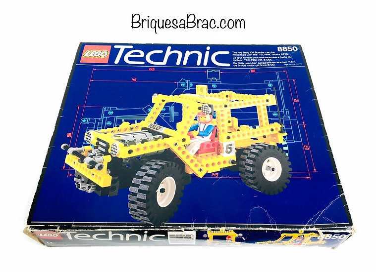 LEGO ® TECHNIC 8850 Rally Support Truck (Occasion 2 sachets encore scellées)