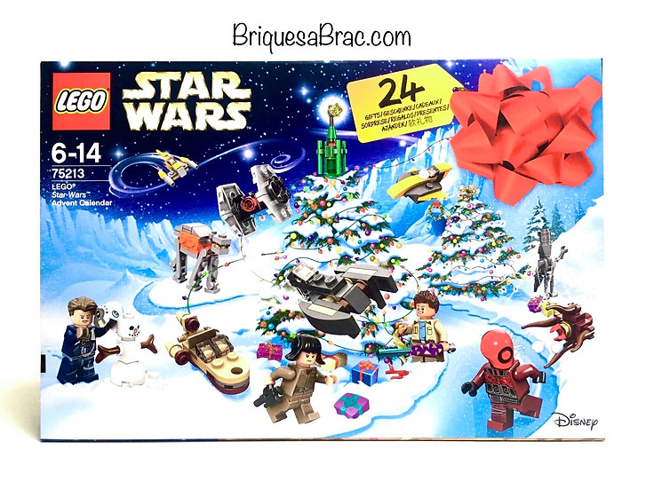 LEGO ® STAR WARS™ 75213 Calendrier de l'avent (Neuf)