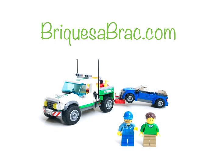 LEGO ® CITY 60081 Le Pickup dépanneuse (Occasion)