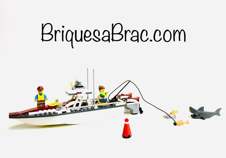 LEGO ® CITY 60147 Le bateau de pêche