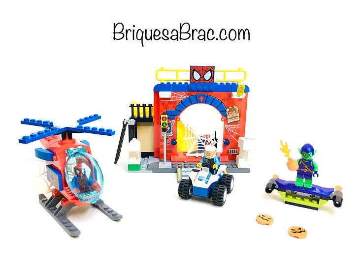 LEGO ® JUNIORS SUPER HEROES 10687 La cachette de Spider-Man™ (Occasion)