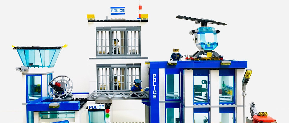 LEGO ® CITY 60047 Le commissariat de Police (Police Station)