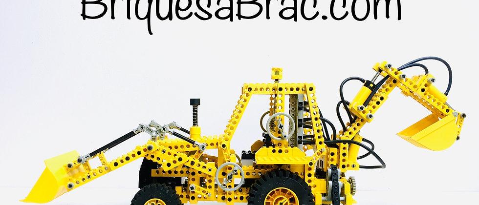 LEGO ® TECHNIC 8862 Pneumatic Backhoe Grader