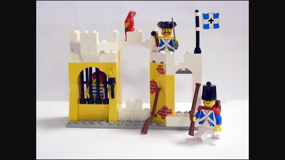 LEGO® 6259 La Prison des Soldats