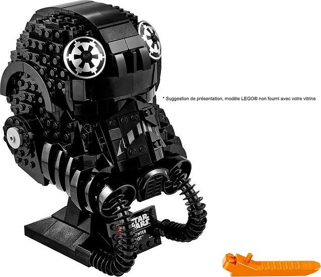 Vitrine BriquesaBoX pour Le Casque TIE Fighter Pilot (LEGO® 75274 non inclus