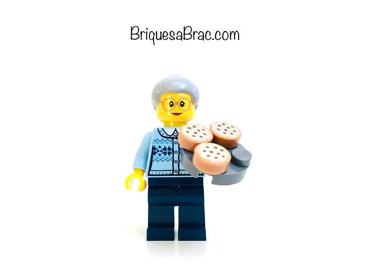 LEGO ® MINIFIGS 60155-9 Grandma Calendrier de l'Avent 2017