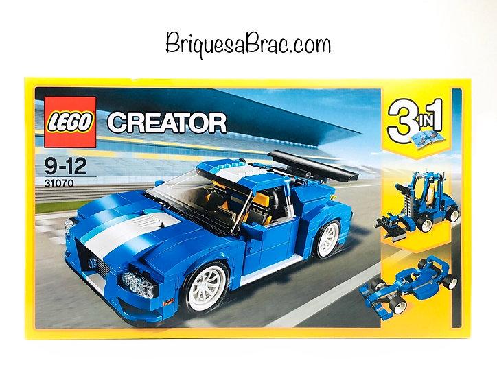 LEGO ® CREATOR 3EN1 31070 Le Bolide Bleu (Neuf)
