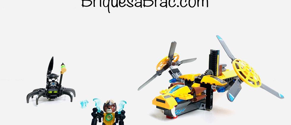 LEGO ® LEGENDS OF CHIMA 70129 Lavertus' Twin Blade
