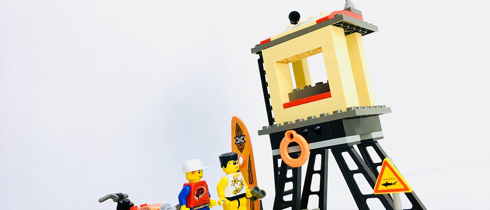 LEGO ® ISLAND EXTREME STUNTS 6736 Beach Lookout