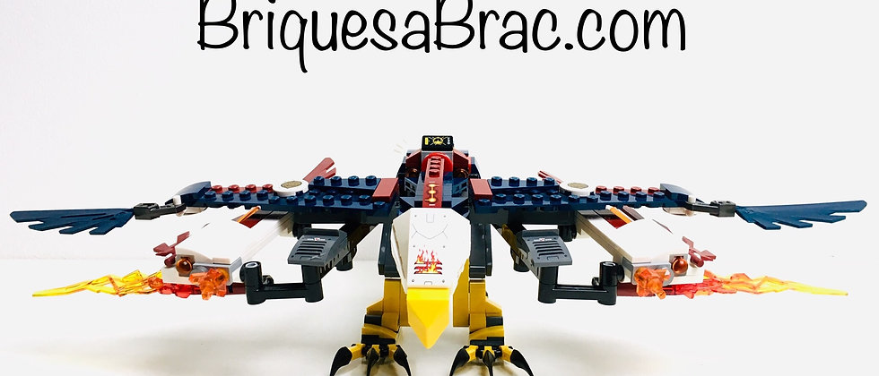 LEGO ® LEGENDS OF CHIMA 70142 Eris' Fire Eagle Flyer