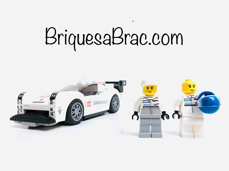 LEGO ® SPEED CHAMPIONS 75876 Porsche 919 Hybrid + Mécanicien