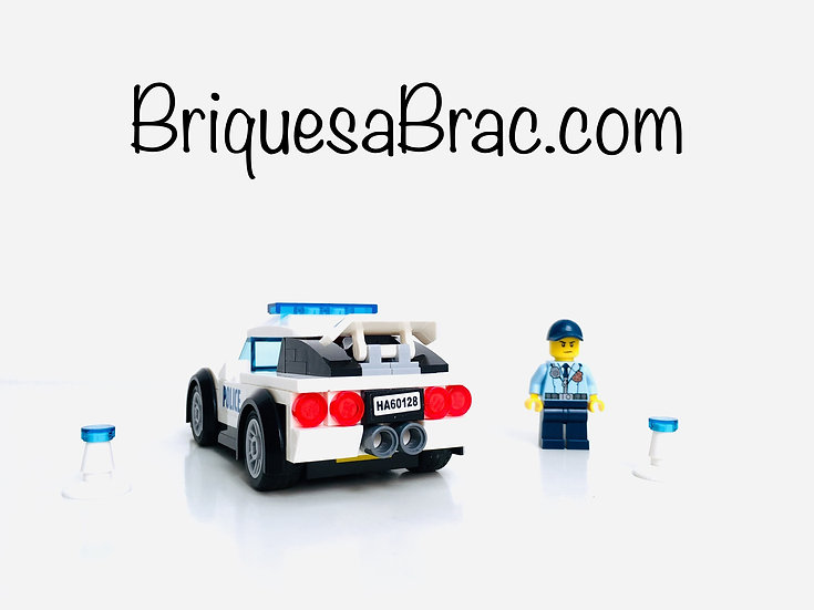 LEGO ® CITY 60128 Police poursuite
