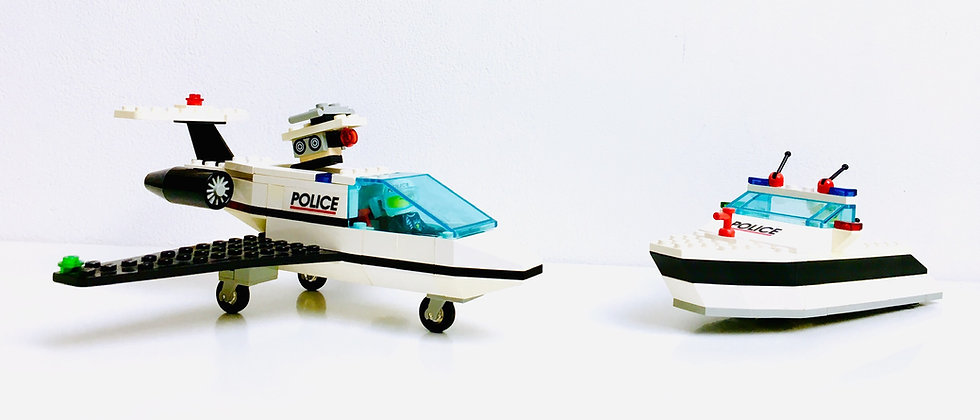 LEGO ® CLASSIC TOWN 6344 Jet speed justice