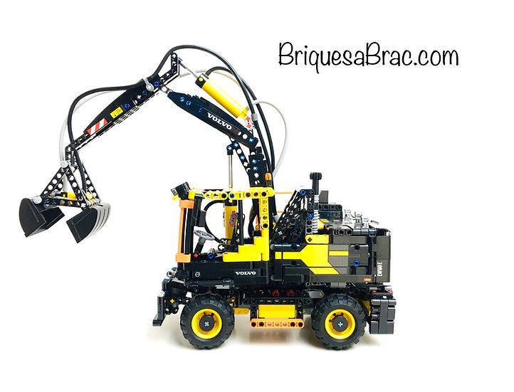 LEGO ® TECHNIC 42053 Volvo EW160E (Pneumatic System)