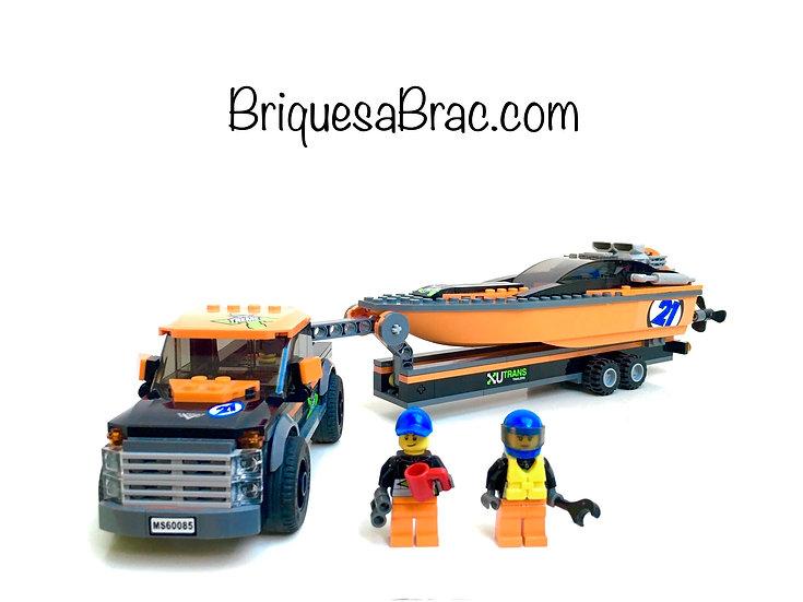 LEGO ® CITY 60085 Le 4x4 et son hors-bord