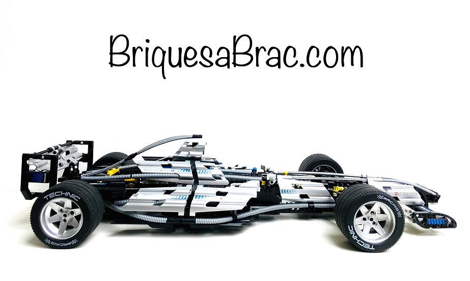 LEGO ® TECHNIC 8458 Silver Champion F1 (Occasion)