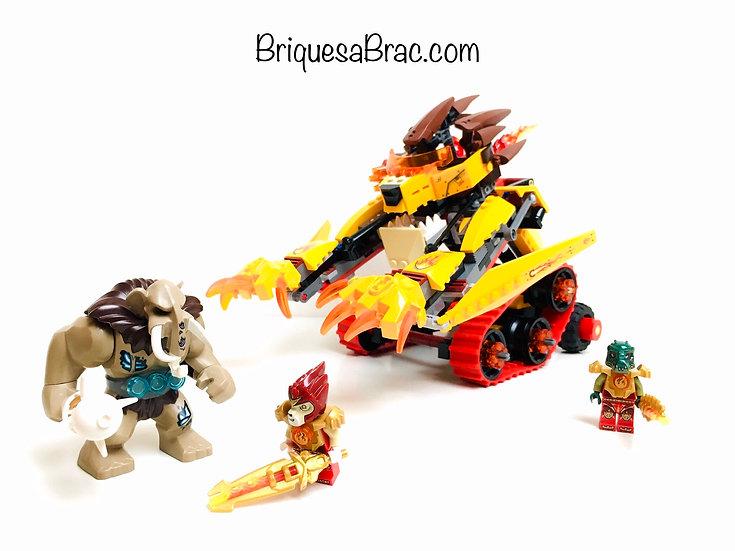 LEGO ® LEGENDS OF CHIMA 70144 Le Tank Lion de Feu