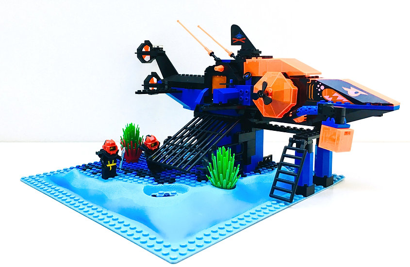 LEGO® AQUAZONE 6190 Shark's Crystal Cave (Occasion)
