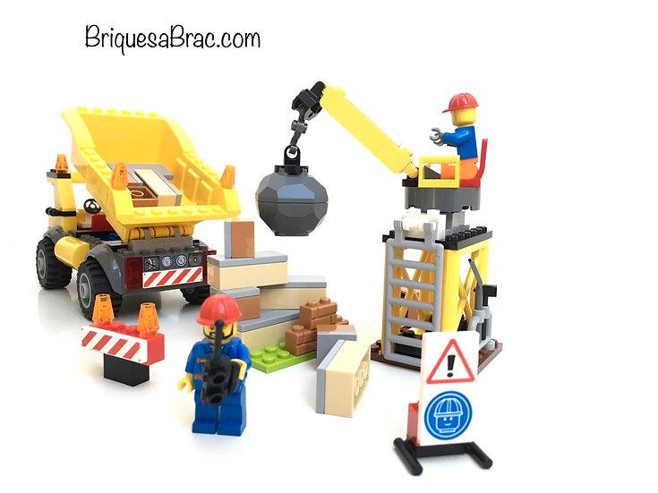 LEGO ® CITY JUNIORS 10734 Le Chantier de démolition (Occasion)