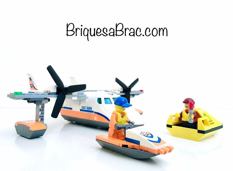 LEGO ® CITY 60164 L'Hydravion de secours en mer